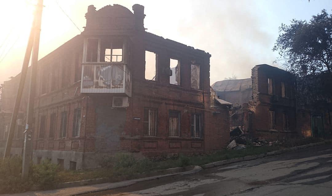 Пожар в Ростове-на-Дону. Итоги